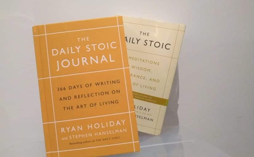 Kick starting my year with focus - The Daily Stoic Journal